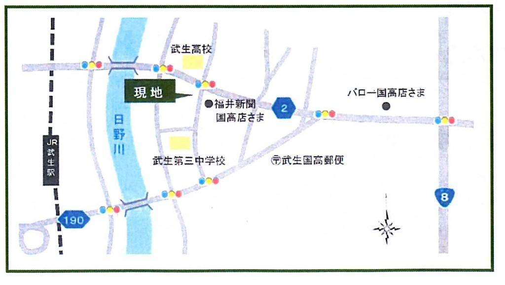分譲地地図